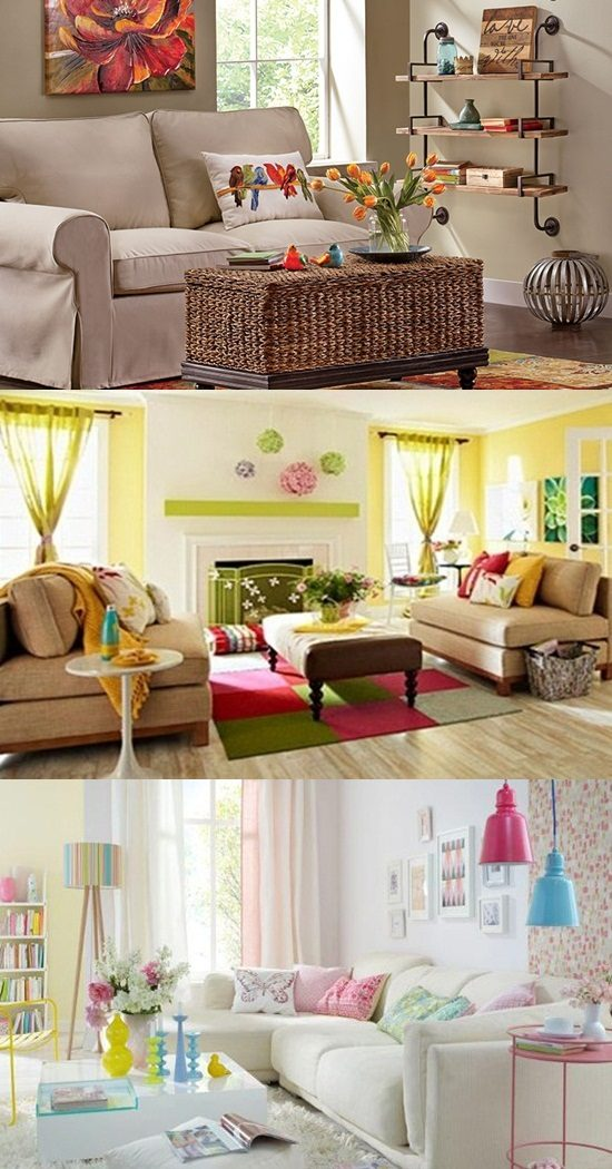 Creative Ways To Refresh Your Living Room During Spring Interior Design
