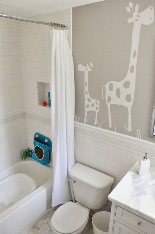 Enjoying and relaxing modern young kid 39 s bathroom decorating ideas interior design - Kids bathroom design ...