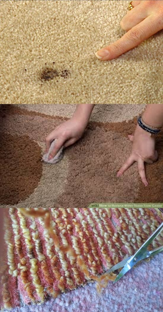 Fixing Burns in Your Rug in Some 6 Steps