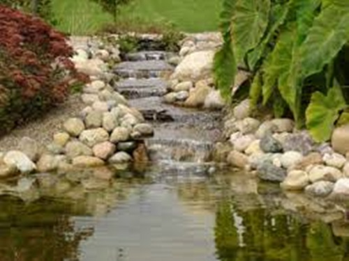 How to clean your outdoor pond efficiently interior design for Backyard pond ideas with waterfall