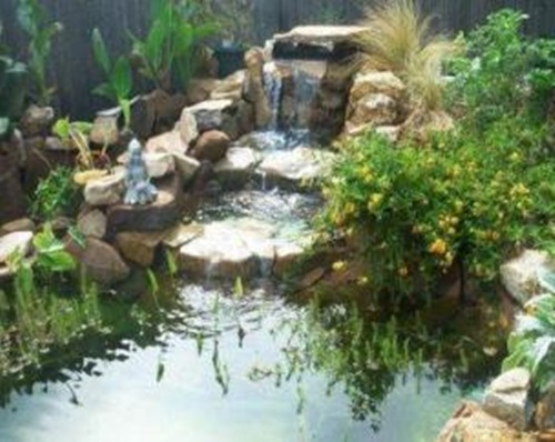 How to clean your outdoor pond efficiently interior design for Making a pond in your backyard