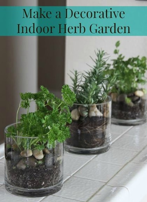 How To Create A Functional And Decorative Indoor Herb Garden Interior Design