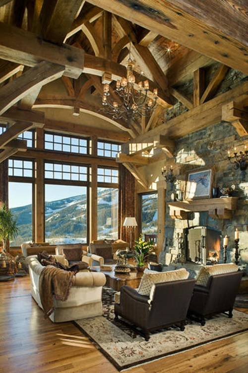 How to decorate your home with a rustic style interior How to accessorise your home