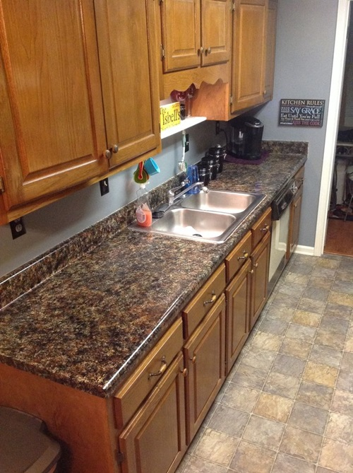 How To Provide Your Countertop A Faux Granite Look Interior Design