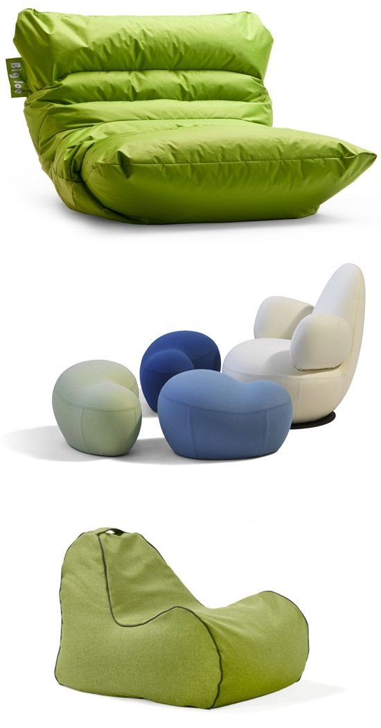 Interesting Bean Bag Chair Designs For Your Modern Home Interior Design