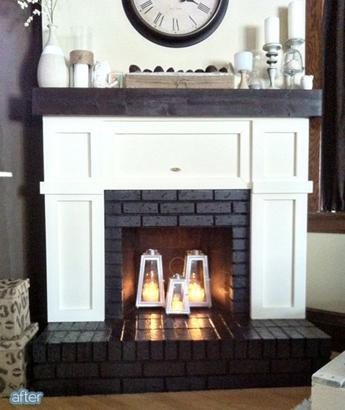 Interesting Ideas to Add a Fake Fireplace to Your Home