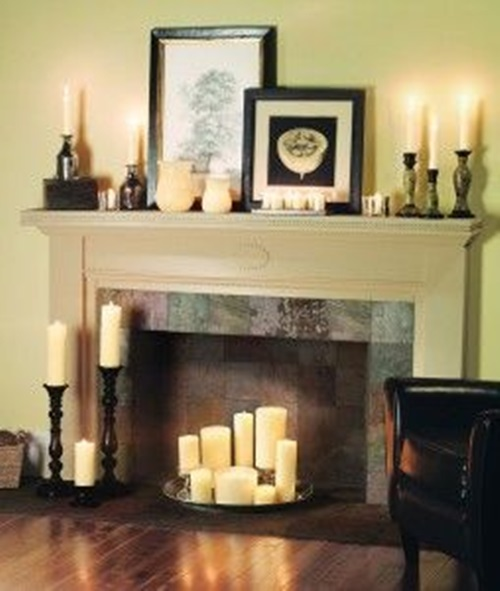 Interesting Ideas To Add A Fake Fireplace To Your Home Interior Design