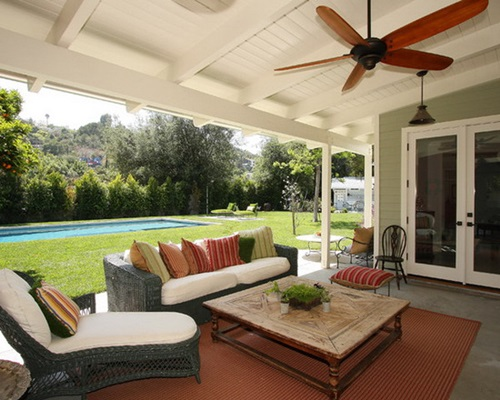 interesting porch ceiling design ideas - Patio Ceiling Ideas