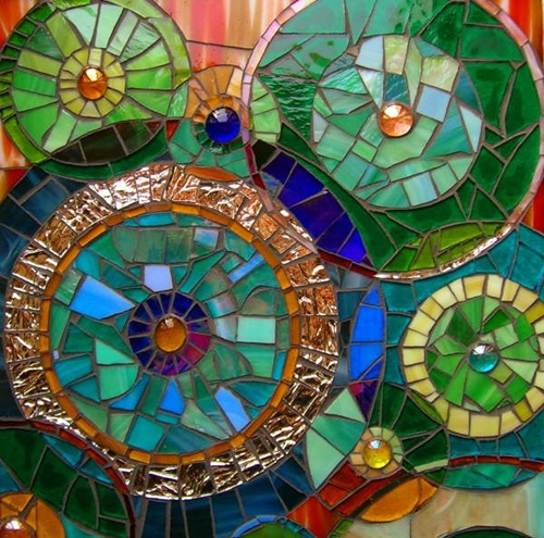 Magical ways to decorate your home and garden using mosaic for Garden mosaic designs