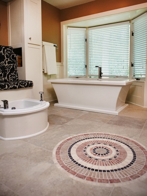 pros and cons of various bathroom floor tile types interior design