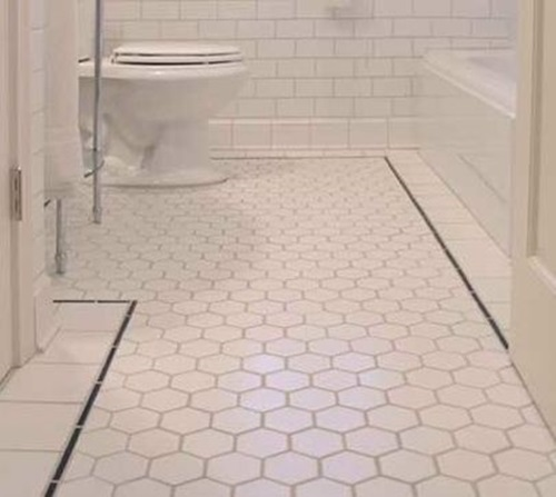 Pros and cons of various bathroom floor tile types for Bathroom flooring options