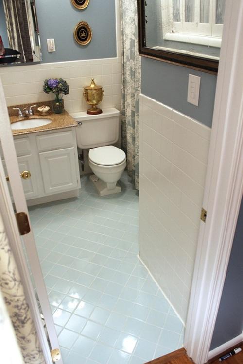How To Paint Grout. Painting Tiles In Bathroom   Janefargo