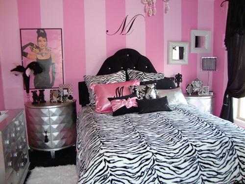 Stunning Zebra Theme Rooms Decorating Ideas