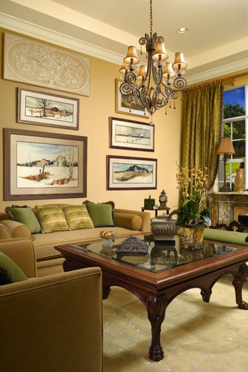 Timeless traditional french living room design ideas Family room decorating ideas traditional
