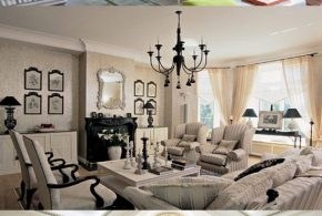 Timeless Traditional French Living Room Design Ideas