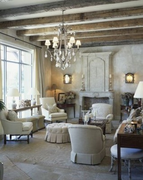 Timeless traditional french living room design ideas for Country french decorating ideas living room