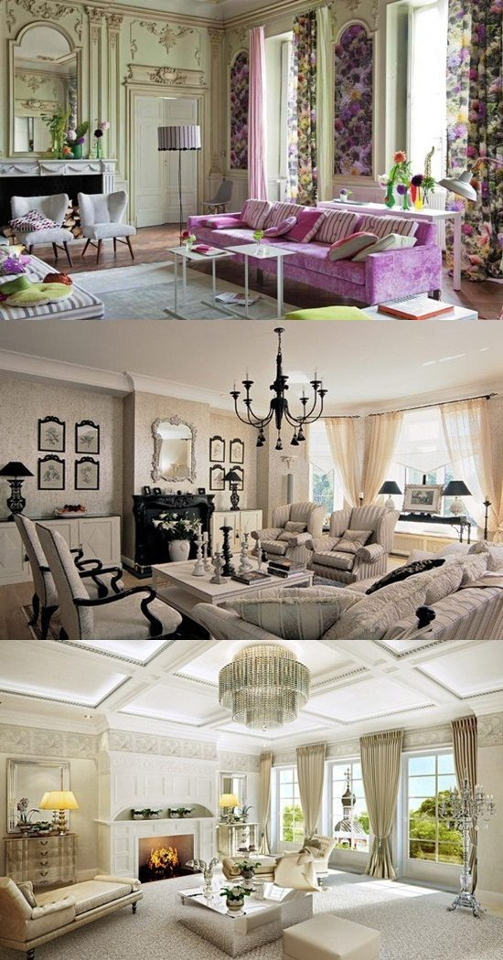 Timeless Traditional French Living Room Design Ideas - Interior design