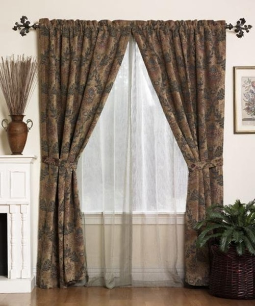 Useful tips to install a curtain rod successfully interior design - Pictures of curtains ...