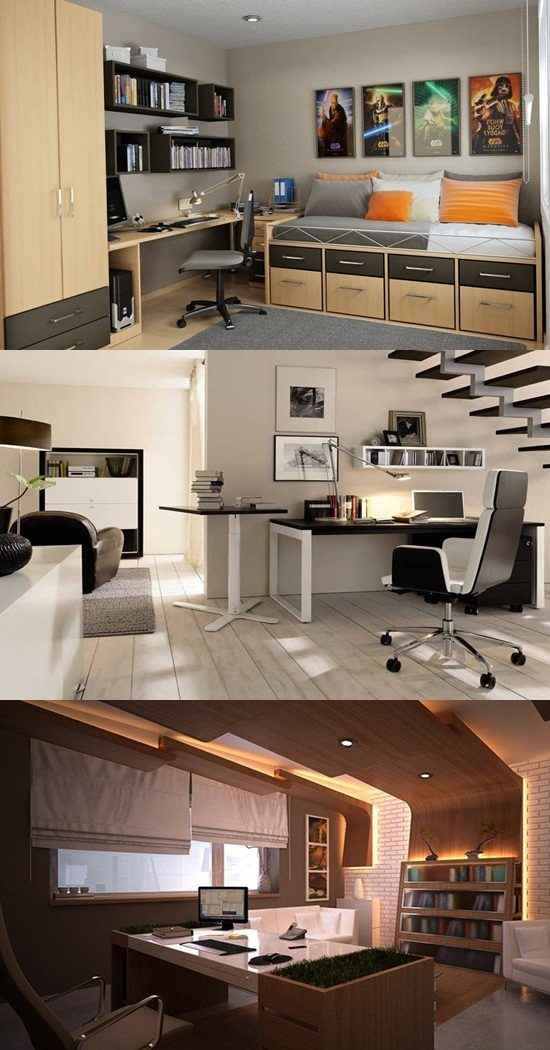 amazing ultramodern office ideas for small spaces interior design