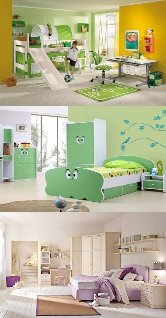 Cute Scandinavian Kids Room Decorating Ideas