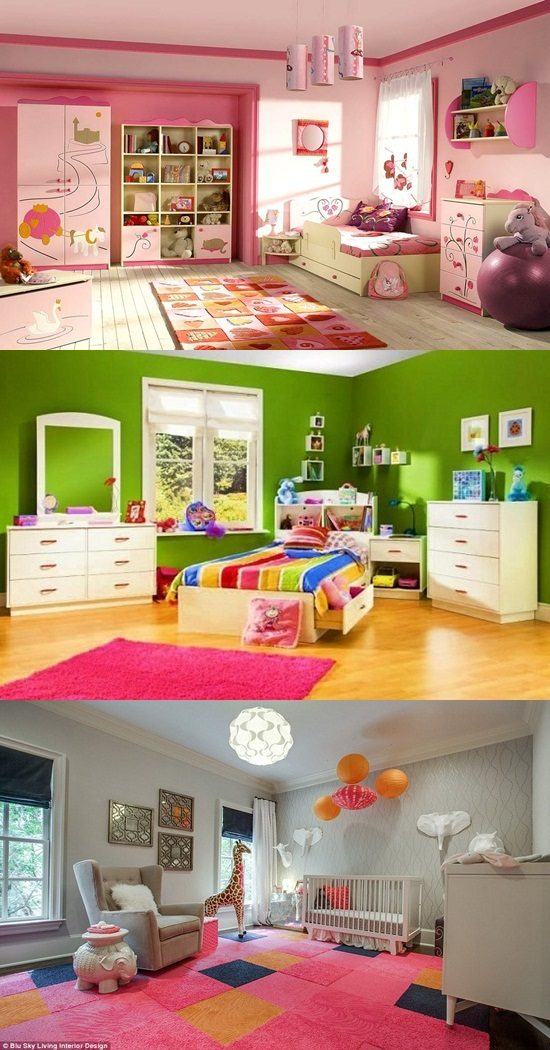 Decorating ideas for girl toddler bedroom