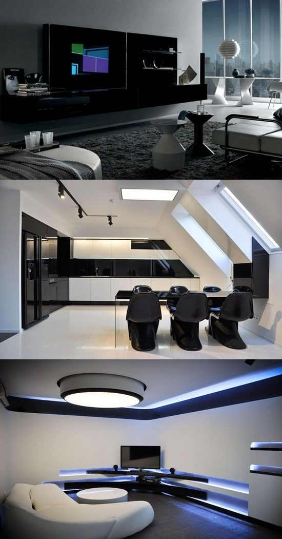 Innovative and Futuristic Curvy Home Design Ideas