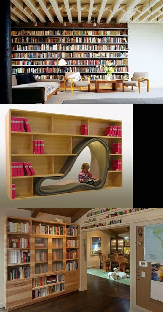 Interesting Ways to Provide Your Bookshelf a Stylish Look