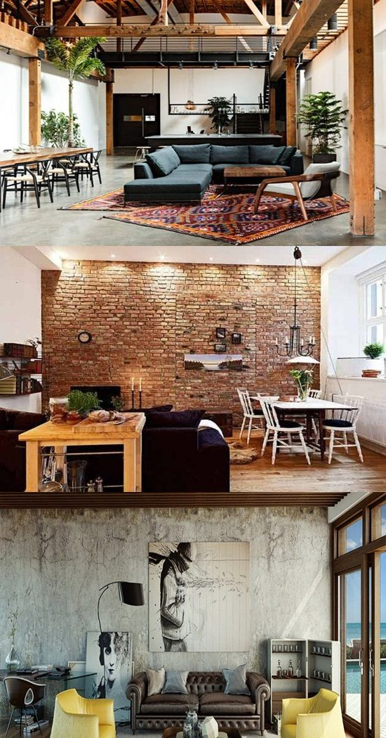 captivating industrial style home design | The Main Features of Industrial Style in Your Home ...
