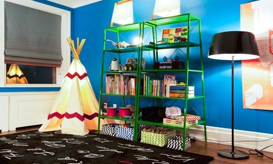 Add charm and functionality by choosing the right kid's room lighting