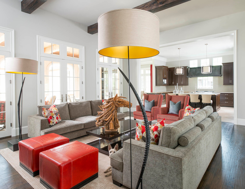 Add Glamour To Any Room By Nice Lamp Shades Interior Design