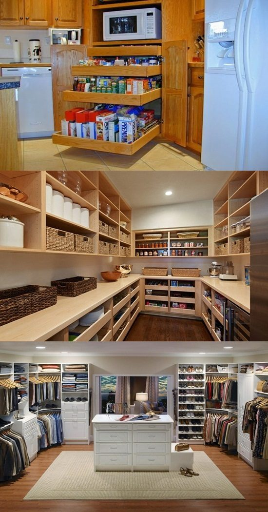Amazing Ideas To Remodel Your Walk In Pantry Interior Design