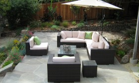 Attractive garden furniture for enjoying summer in your outdoor area
