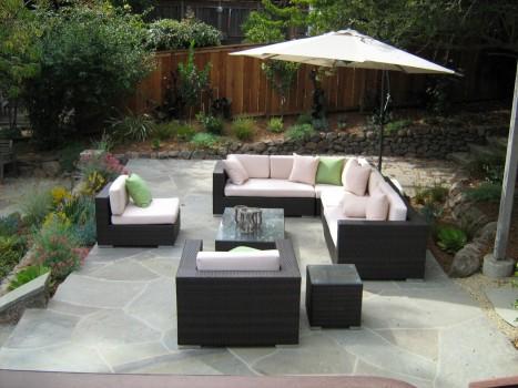 Attractive garden furniture
