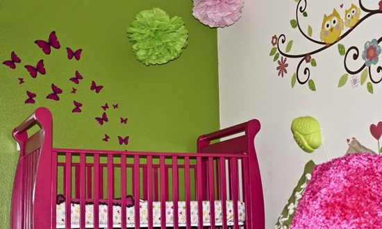 Awesome Ideas to Decorate your Kids' Room with DIY Owl Shapes