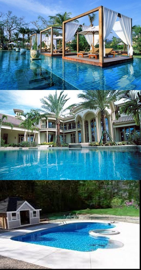 Breathtaking Outdoor Swimming Pool Designs and Decorations ...