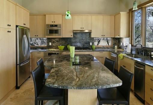 Contemporary Granite Kitchen Worktops