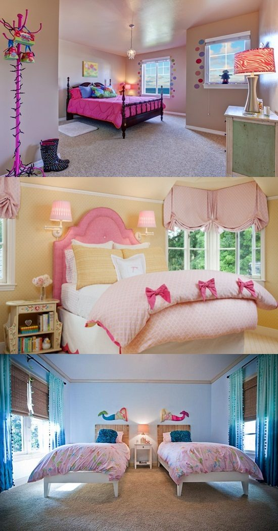 Create a charming and feminine bedroom for your baby girl for How to make your room look girly