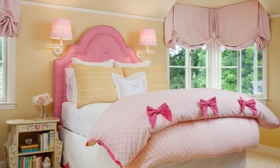 Create a charming and feminine bedroom for your baby girl