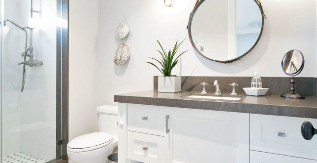 Create an illuminated and elegant bathroom with the right features