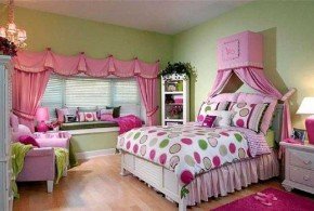 Decorate your girl bedroom with dreamy and girly look