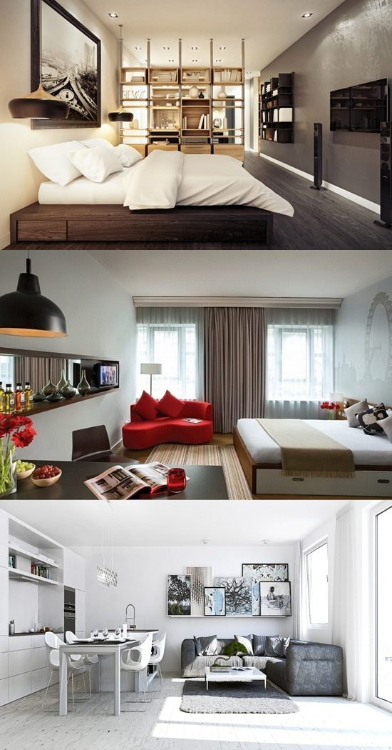 Decorate your small apartment wisely to maximize and beautify its look