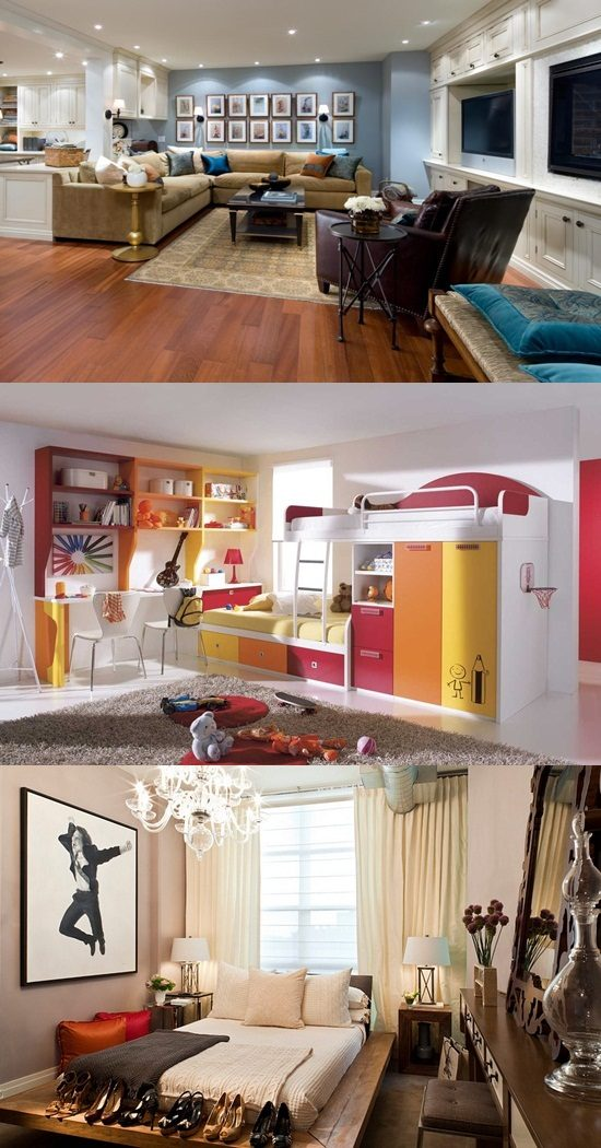 Decorating your basement to be a charming bedroom