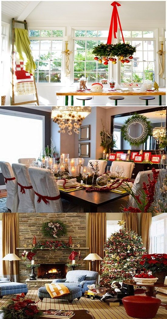 Dress your Family Room in a White Merry Christmas Style