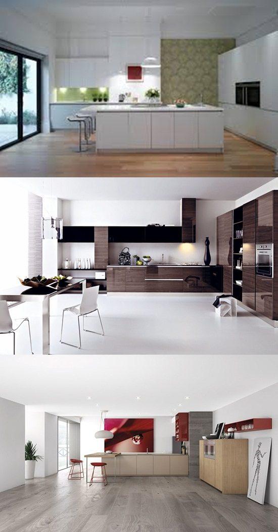Enjoy Cooking In A Minimalist Modern Kitchen Interior Design