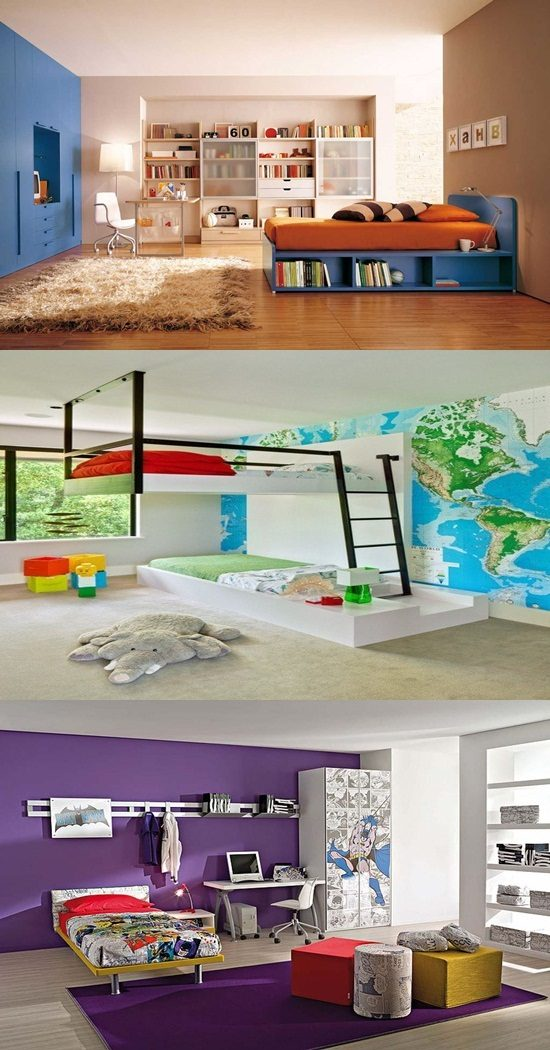 Enjoy decorating your children's room by innovative furniture