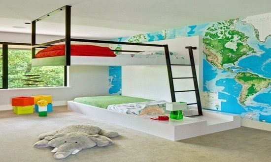 Enjoy Decorating Your Childrenu0027s Room By Innovative Furniture   Interior  Design