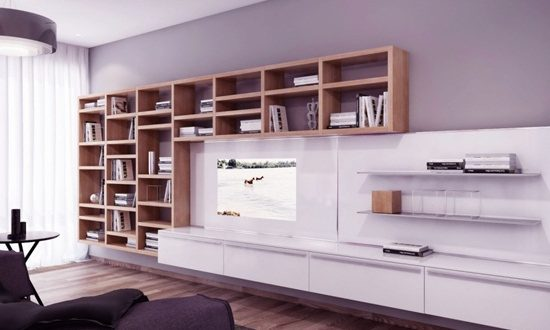 Get a gorgeous bookcase for your living room