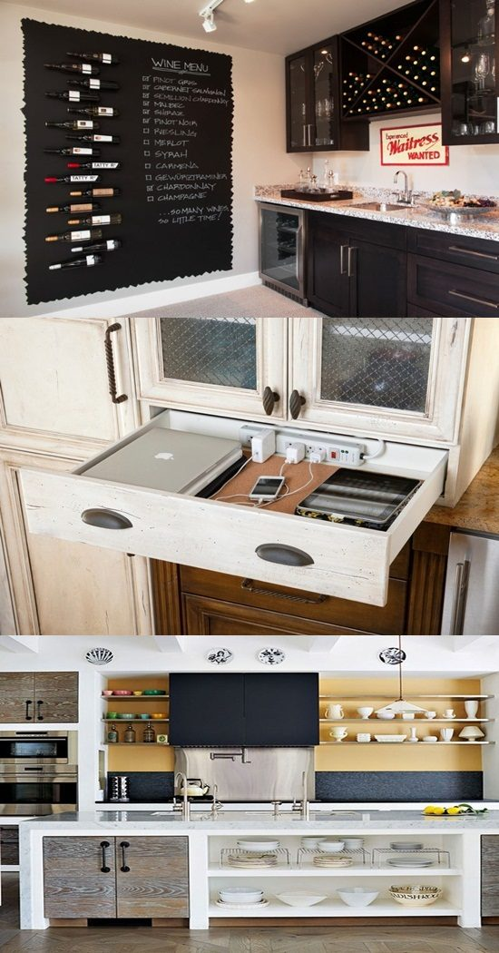 Get your amazing hidden kitchen with easy design's ideas