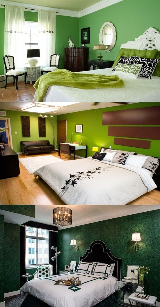 Go green and have a healthy bedroom design