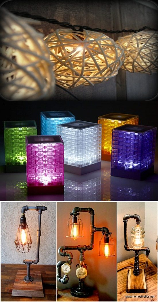 Impressive DIY Lamp Projects To Decorate Your Bedroom